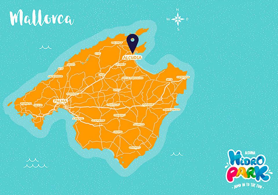 ¿Cómo llegar a Hidropark Alcudia?